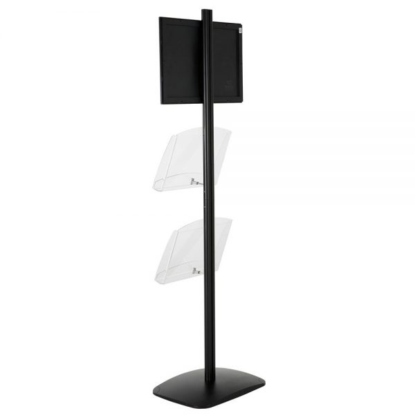 free-standing-stand-in-black-color-with-1-x-11X17-frame-in-portrait-and-landscape-and-2-x-8.5x11-clear-shelf-in-acrylic-single-sided-10