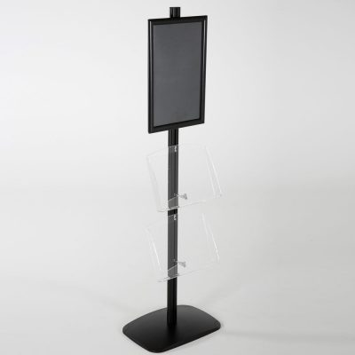 free-standing-stand-in-black-color-with-1-x-11X17-frame-in-portrait-and-landscape-and-2-x-8.5x11-clear-shelf-in-acrylic-single-sided-13