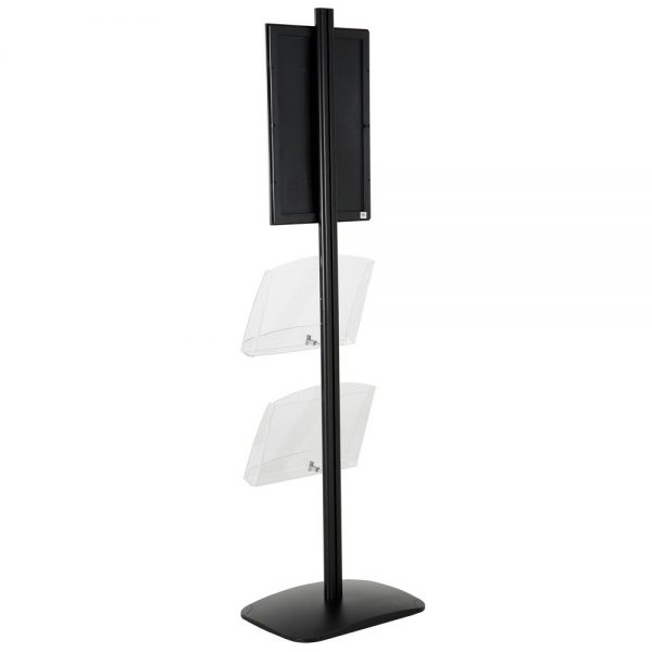 free-standing-stand-in-black-color-with-1-x-11X17-frame-in-portrait-and-landscape-and-2-x-8.5x11-clear-shelf-in-acrylic-single-sided-14