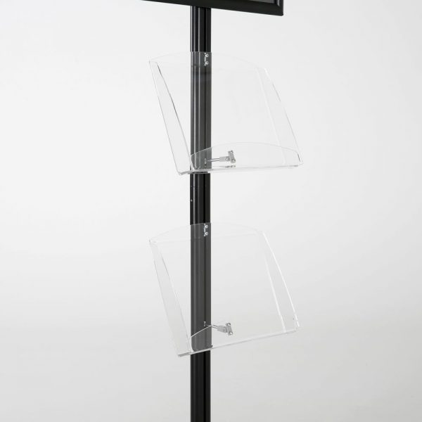 free-standing-stand-in-black-color-with-1-x-11X17-frame-in-portrait-and-landscape-and-2-x-8.5x11-clear-shelf-in-acrylic-single-sided-7