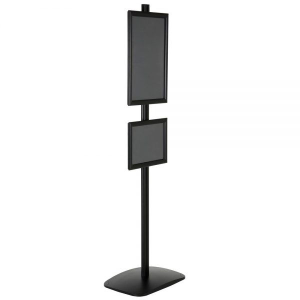 free-standing-stand-in-black-color-with-1-x-11x17-frame-and-1-x-8.5x11-frame-in-portrait-and-landscape-position-single-sided-13