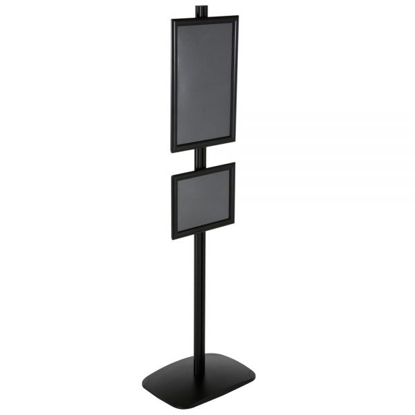 free-standing-stand-in-black-color-with-1-x-11x17-frame-and-1-x-8.5x11-frame-in-portrait-and-landscape-position-single-sided-16