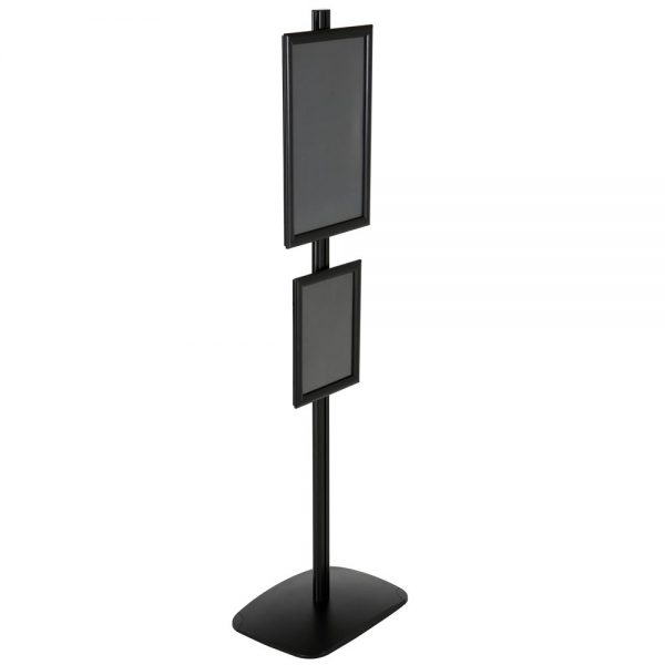 free-standing-stand-in-black-color-with-1-x-11x17-frame-and-1-x-8.5x11-frame-in-portrait-and-landscape-position-single-sided-17