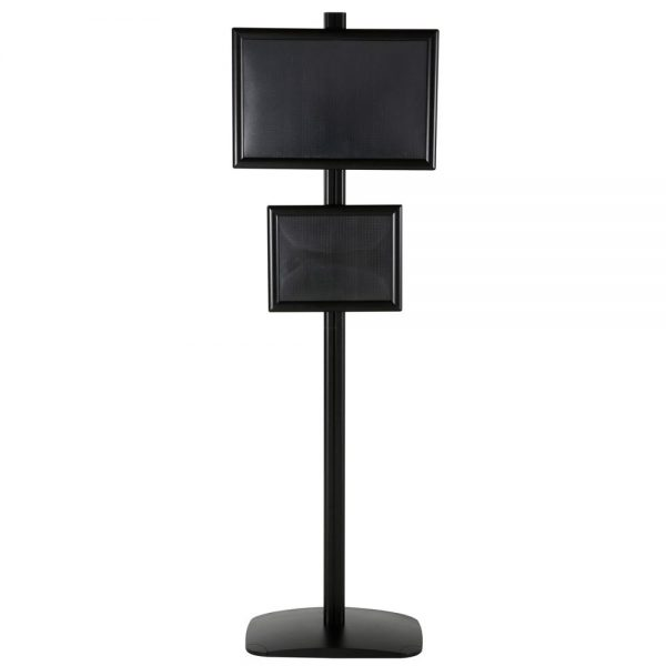 free-standing-stand-in-black-color-with-1-x-11x17-frame-and-1-x-8.5x11-frame-in-portrait-and-landscape-position-single-sided-5