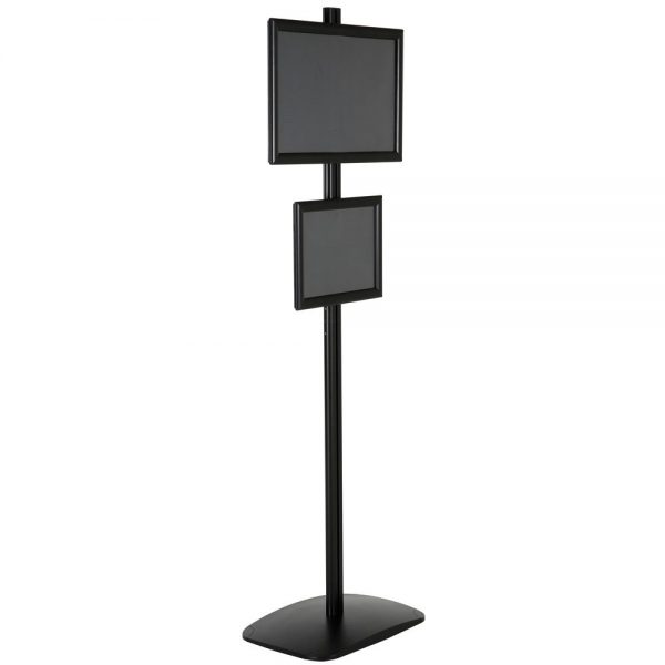 free-standing-stand-in-black-color-with-1-x-11x17-frame-and-1-x-8.5x11-frame-in-portrait-and-landscape-position-single-sided-6