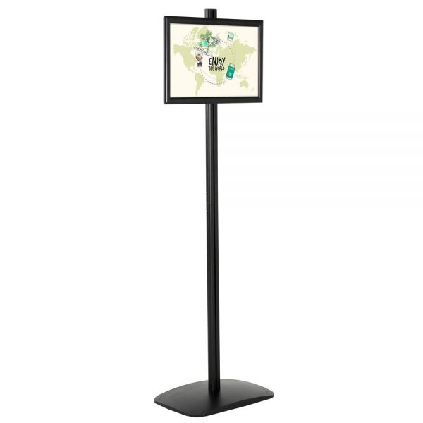 Free Standing Stand In Black Color