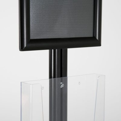 free-standing-stand-in-black-color-with-1-x-8.5X11-frame-in-portrait-and-landscape-and-2-x-8.5x11-clear-pocket-shelf-single-sided-10
