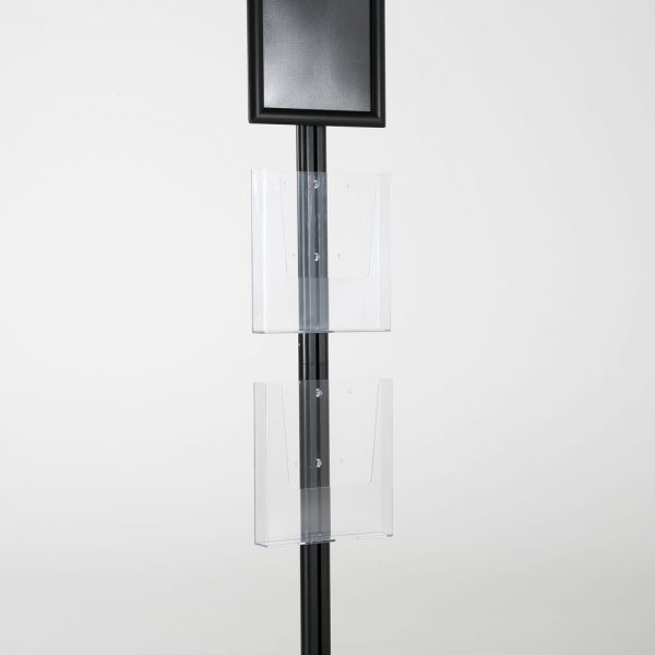 free-standing-stand-in-black-color-with-1-x-8.5X11-frame-in-portrait-and-landscape-and-2-x-8.5x11-clear-pocket-shelf-single-sided-7