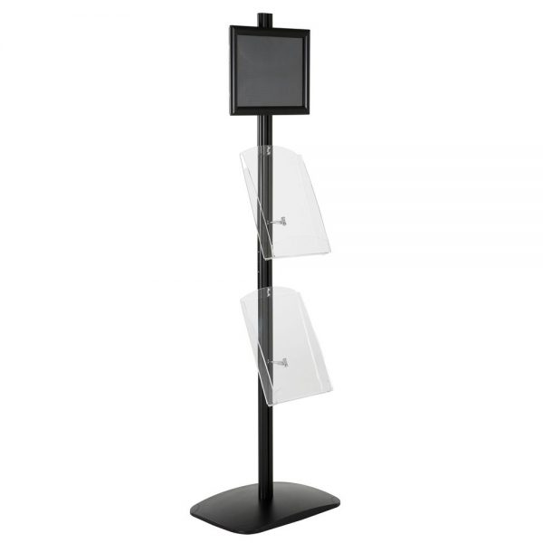 free-standing-stand-in-black-color-with-1-x-8.5X11-frame-in-portrait-and-landscape-and-2-x-8.5x11-clear-shelf-in-acrylic-single-sided-11