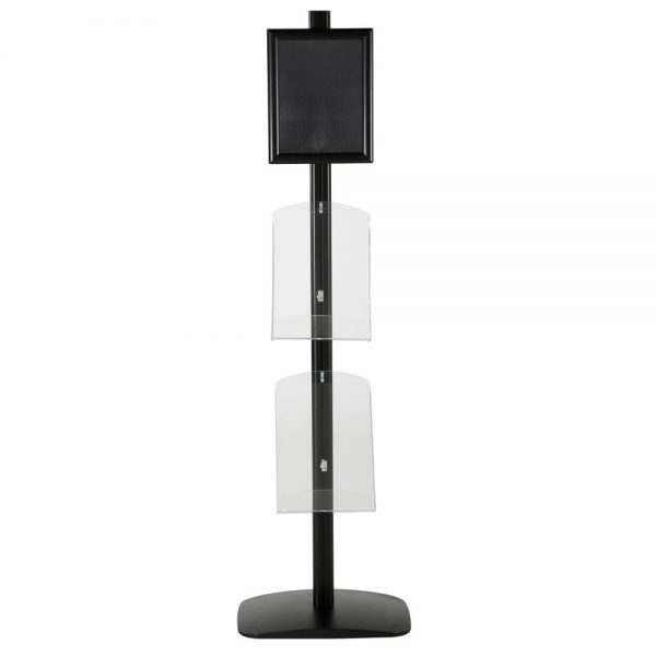 free-standing-stand-in-black-color-with-1-x-8.5X11-frame-in-portrait-and-landscape-and-2-x-8.5x11-clear-shelf-in-acrylic-single-sided-5