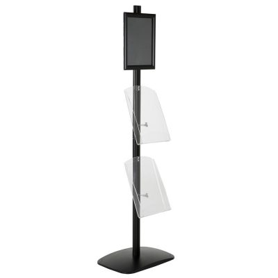 free-standing-stand-in-black-color-with-1-x-8.5X11-frame-in-portrait-and-landscape-and-2-x-8.5x11-clear-shelf-in-acrylic-single-sided-6