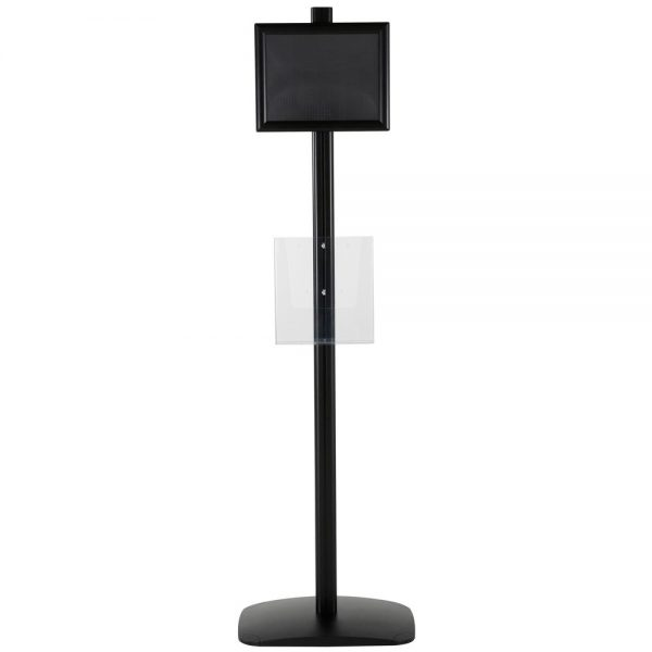 free-standing-stand-in-black-color-with-1-x-8.5x11-frame-in-portrait-and-landscape-and-1-x-8.5x11-clear-pocket-shelf-single-sided-15
