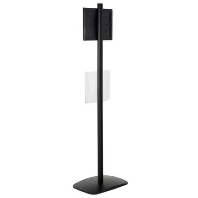 free-standing-stand-in-black-color-with-1-x-8.5x11-frame-in-portrait-and-landscape-and-1-x-8.5x11-clear-pocket-shelf-single-sided-16