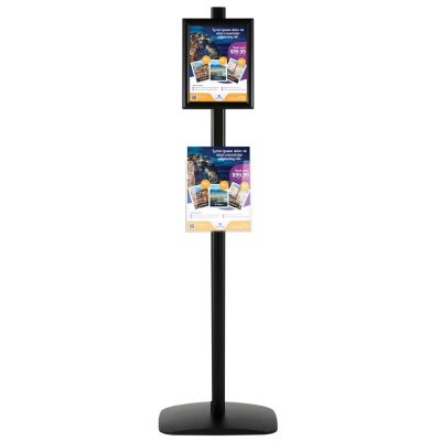 free-standing-stand-in-black-color-with-1-x-8.5x11-frame-in-portrait-and-landscape-and-1-x-8.5x11-clear-pocket-shelf-single-sided-4