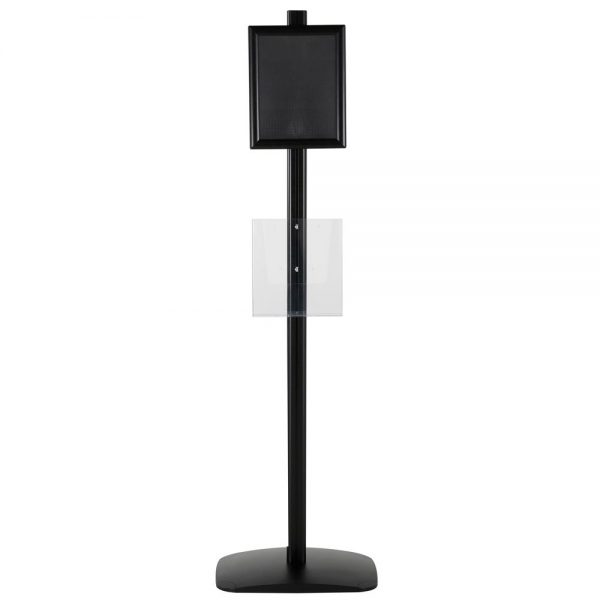 free-standing-stand-in-black-color-with-1-x-8.5x11-frame-in-portrait-and-landscape-and-1-x-8.5x11-clear-pocket-shelf-single-sided-6