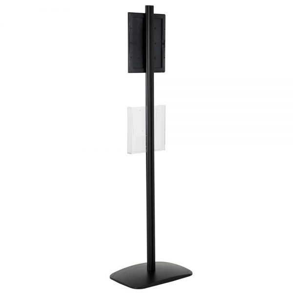 free-standing-stand-in-black-color-with-1-x-8.5x11-frame-in-portrait-and-landscape-and-1-x-8.5x11-clear-pocket-shelf-single-sided-7