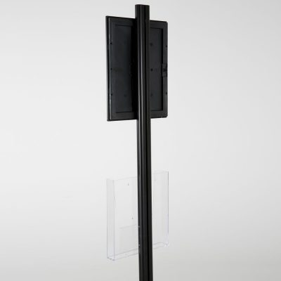 free-standing-stand-in-black-color-with-1-x-8.5x11-frame-in-portrait-and-landscape-and-1-x-8.5x11-clear-pocket-shelf-single-sided-8