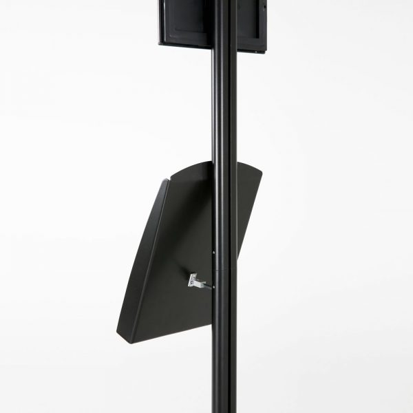 free-standing-stand-in-black-color-with-1-x-8.5x11-frame-in-portrait-and-landscape-and-1-x-8.5x11-steel-shelf-single-sided-10