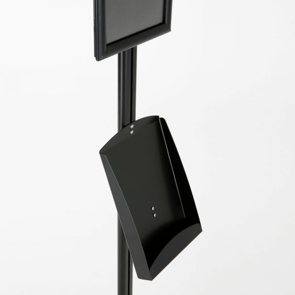 free-standing-stand-in-black-color-with-1-x-8.5x11-frame-in-portrait-and-landscape-and-1-x-8.5x11-steel-shelf-single-sided-12