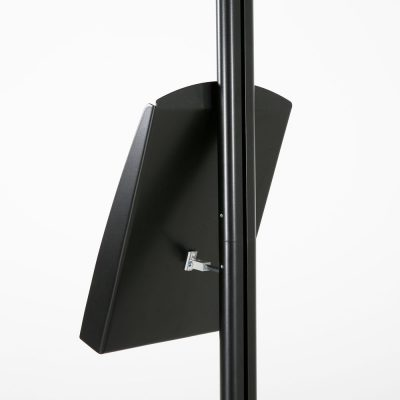 free-standing-stand-in-black-color-with-1-x-8.5x11-frame-in-portrait-and-landscape-and-1-x-8.5x11-steel-shelf-single-sided-9