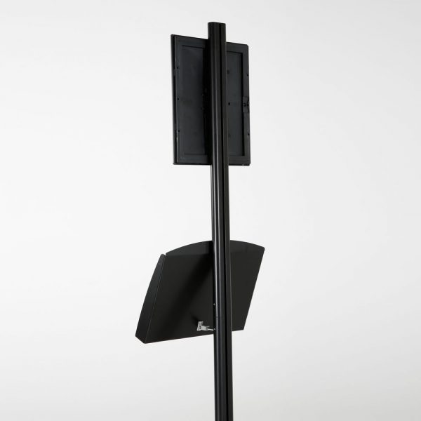 free-standing-stand-in-black-color-with-1-x-8.5x11-frame-in-portrait-and-landscape-and-2-x-5.5x8.5-steel-shelf-single-sided-14