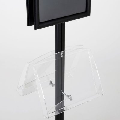 free-standing-stand-in-black-color-with-2-x-11X17-frame-in-portrait-and-landscape-and-2-2-x-8.5x11-clear-shelf-in-acrylic-double-sided-13
