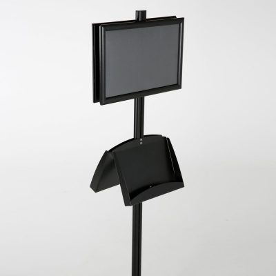 free-standing-stand-in-black-color-with-2-x-11X17-frame-in-portrait-and-landscape-and-2-x-5.5x8.5-steel-shelf-double-sided-10