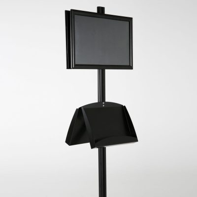 free-standing-stand-in-black-color-with-2-x-11X17-frame-in-portrait-and-landscape-and-2-x-5.5x8.5-steel-shelf-double-sided-12