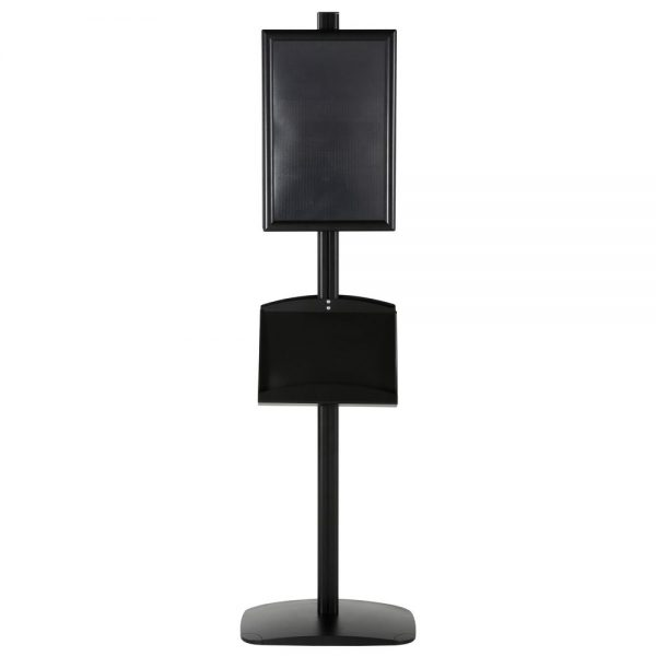 free-standing-stand-in-black-color-with-2-x-11X17-frame-in-portrait-and-landscape-and-2-x-5.5x8.5-steel-shelf-double-sided-5