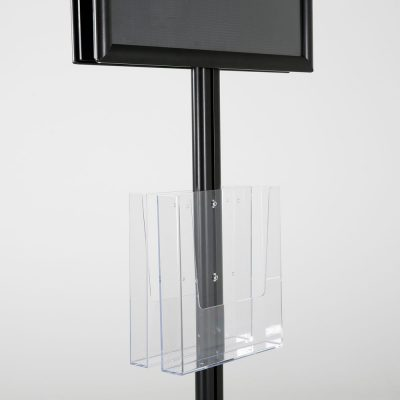free-standing-stand-in-black-color-with-2-x-11X17-frame-in-portrait-and-landscape-and-2-x-8.5x11-clear-pocket-shelf-double-sided-10