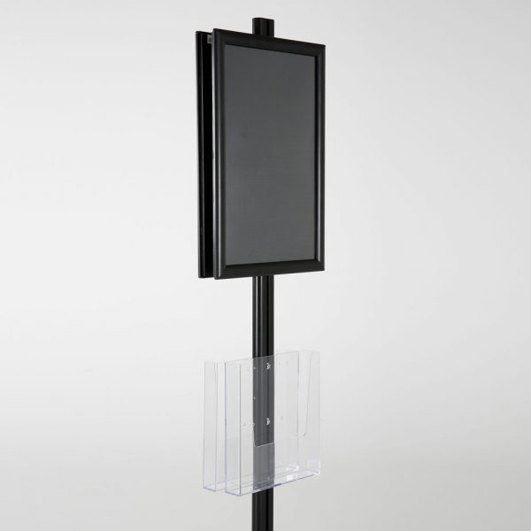 free-standing-stand-in-black-color-with-2-x-11X17-frame-in-portrait-and-landscape-and-2-x-8.5x11-clear-pocket-shelf-double-sided-14