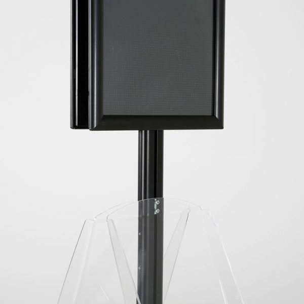 free-standing-stand-in-black-color-with-2-x-11X17-frame-in-portrait-and-landscape-and-2-x-8.5x11-clear-shelf-in-acrylic-double-sided-14