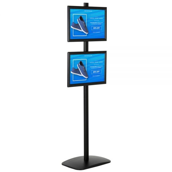 free-standing-stand-in-black-color-with-2-x-11x17-frame-in-portrait-and-landscape-position-single-sided-5