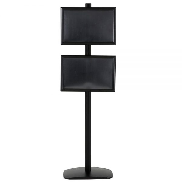 free-standing-stand-in-black-color-with-2-x-11x17-frame-in-portrait-and-landscape-position-single-sided-7