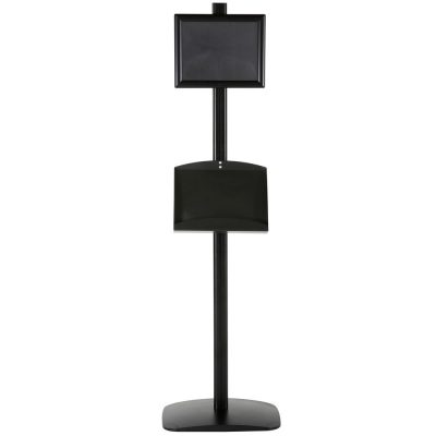 free-standing-stand-in-black-color-with-2-x-8.5x11-frame-in-portrait-and-landscape-and-2-2-x-5.5x8.5-steel-shelf-double-sided-11