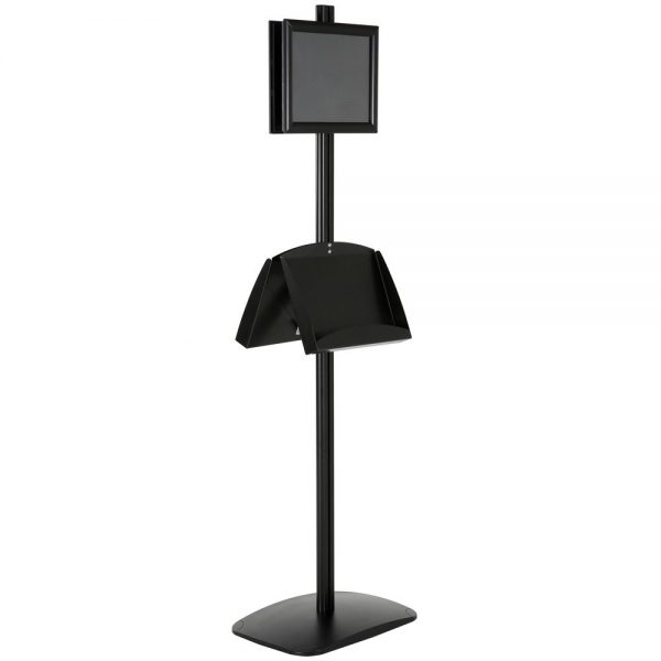 free-standing-stand-in-black-color-with-2-x-8.5x11-frame-in-portrait-and-landscape-and-2-2-x-5.5x8.5-steel-shelf-double-sided-12