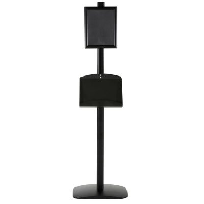 free-standing-stand-in-black-color-with-2-x-8.5x11-frame-in-portrait-and-landscape-and-2-2-x-5.5x8.5-steel-shelf-double-sided-5