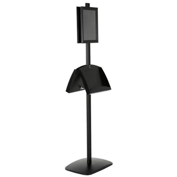 free-standing-stand-in-black-color-with-2-x-8.5x11-frame-in-portrait-and-landscape-and-2-2-x-5.5x8.5-steel-shelf-double-sided-6