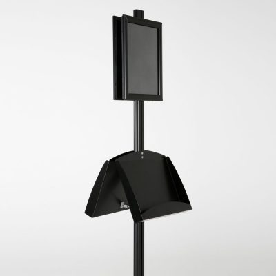 free-standing-stand-in-black-color-with-2-x-8.5x11-frame-in-portrait-and-landscape-and-2-2-x-5.5x8.5-steel-shelf-double-sided-7