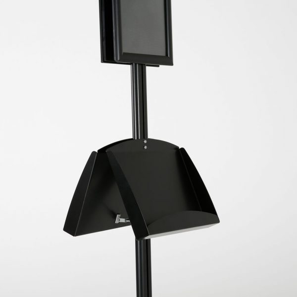 free-standing-stand-in-black-color-with-2-x-8.5x11-frame-in-portrait-and-landscape-and-2-2-x-5.5x8.5-steel-shelf-double-sided-8