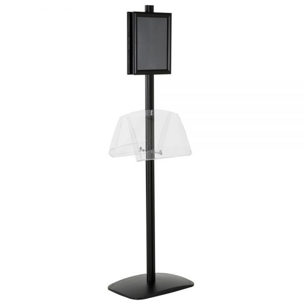 free-standing-stand-in-black-color-with-2-x-8.5x11-frame-in-portrait-and-landscape-and-2-2-x-8.5x11-clear-shelf-in-acrylic-double-sided-10