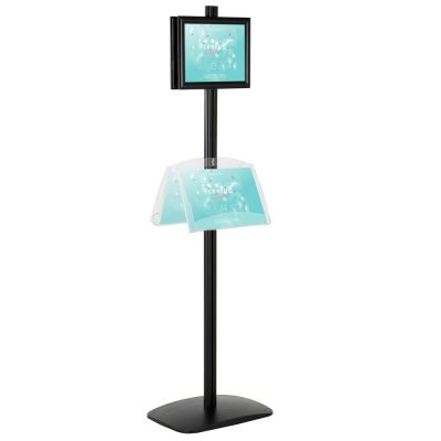 free-standing-stand-in-black-color-with-2-x-8.5x11-frame-in-portrait-and-landscape-and-2-2-x-8.5x11-clear-shelf-in-acrylic-double-sided-4