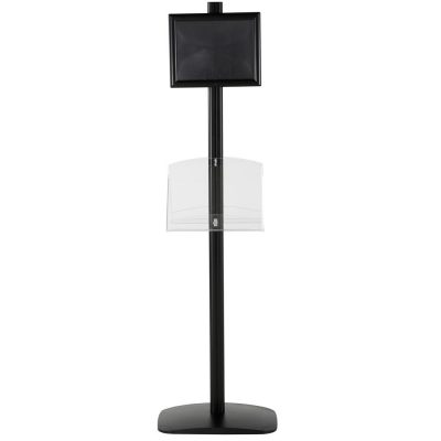 free-standing-stand-in-black-color-with-2-x-8.5x11-frame-in-portrait-and-landscape-and-2-2-x-8.5x11-clear-shelf-in-acrylic-double-sided-5