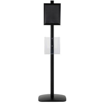 free-standing-stand-in-black-color-with-2-x-8.5x11-frame-in-portrait-and-landscape-and-2-x-8.5x11-clear-pocket-shelf-double-sided-11