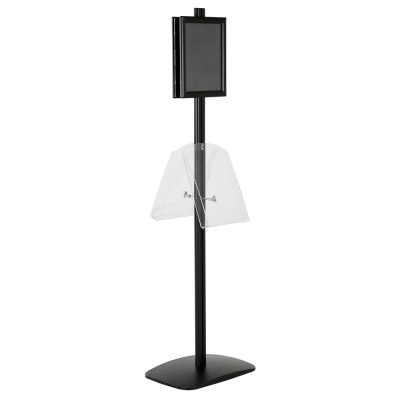 free-standing-stand-in-black-color-with-2-x-8.5x11-frame-in-portrait-and-landscape-and-2-x-8.5x11-clear-shelf-in-acrylic-double-sided-5