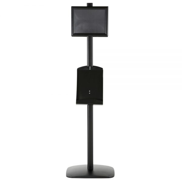 free-standing-stand-in-black-color-with-2-x-8.5x11-frame-in-portrait-and-landscape-and-2-x-8.5x11-steel-shelf-double-sided-12
