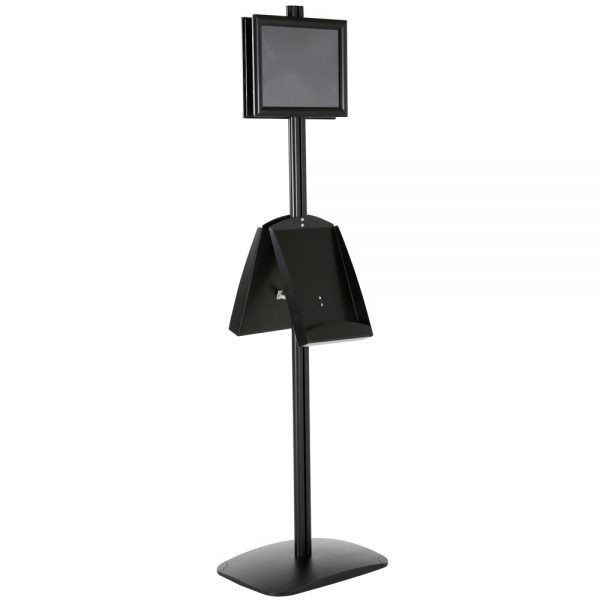 free-standing-stand-in-black-color-with-2-x-8.5x11-frame-in-portrait-and-landscape-and-2-x-8.5x11-steel-shelf-double-sided-13