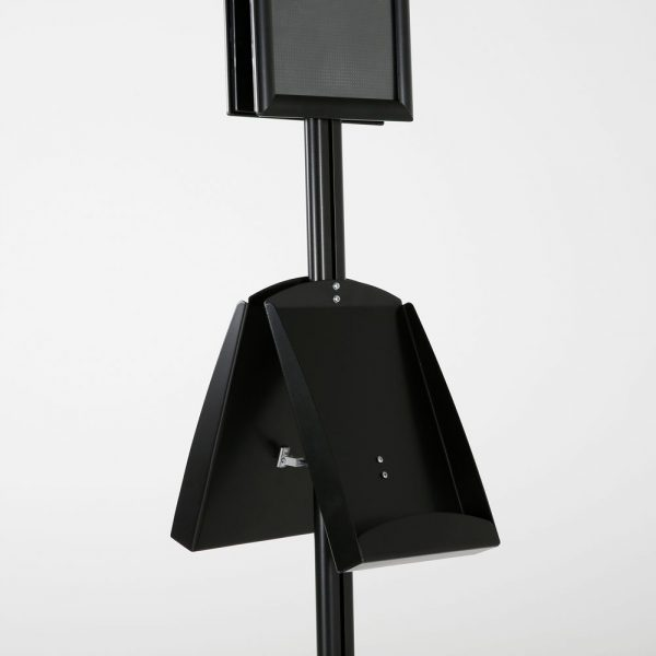 free-standing-stand-in-black-color-with-2-x-8.5x11-frame-in-portrait-and-landscape-and-2-x-8.5x11-steel-shelf-double-sided-8