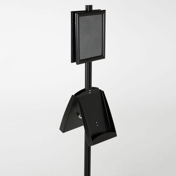 free-standing-stand-in-black-color-with-2-x-8.5x11-frame-in-portrait-and-landscape-and-2-x-8.5x11-steel-shelf-double-sided-9