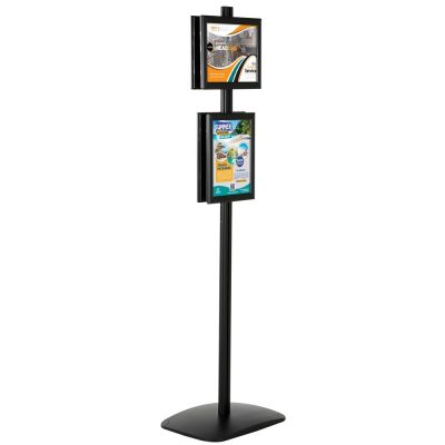 free-standing-stand-in-black-color-with-4-x-8.5x11-frame-in-portrait-and-landscape-position-double-sided-4